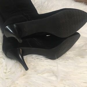 Talbots Shoes - Talbots black suede boots